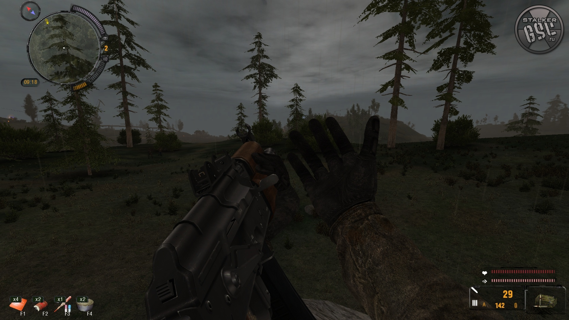 S.T.A.L.K.E.R: Call of Pripyat - Life zone