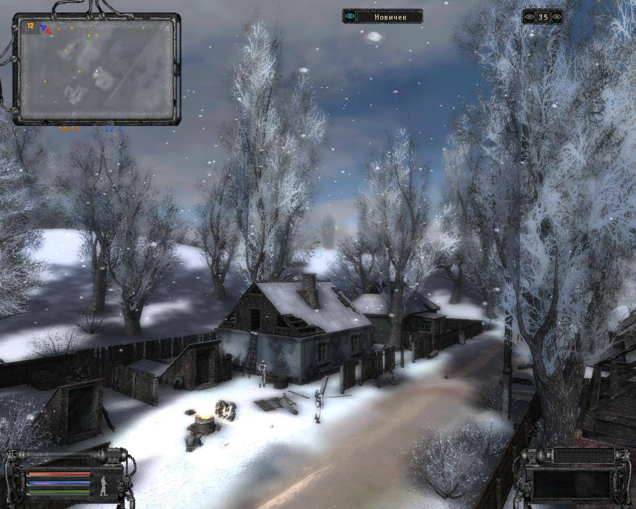 Мод: Nature Winter v2.3 Black Edition