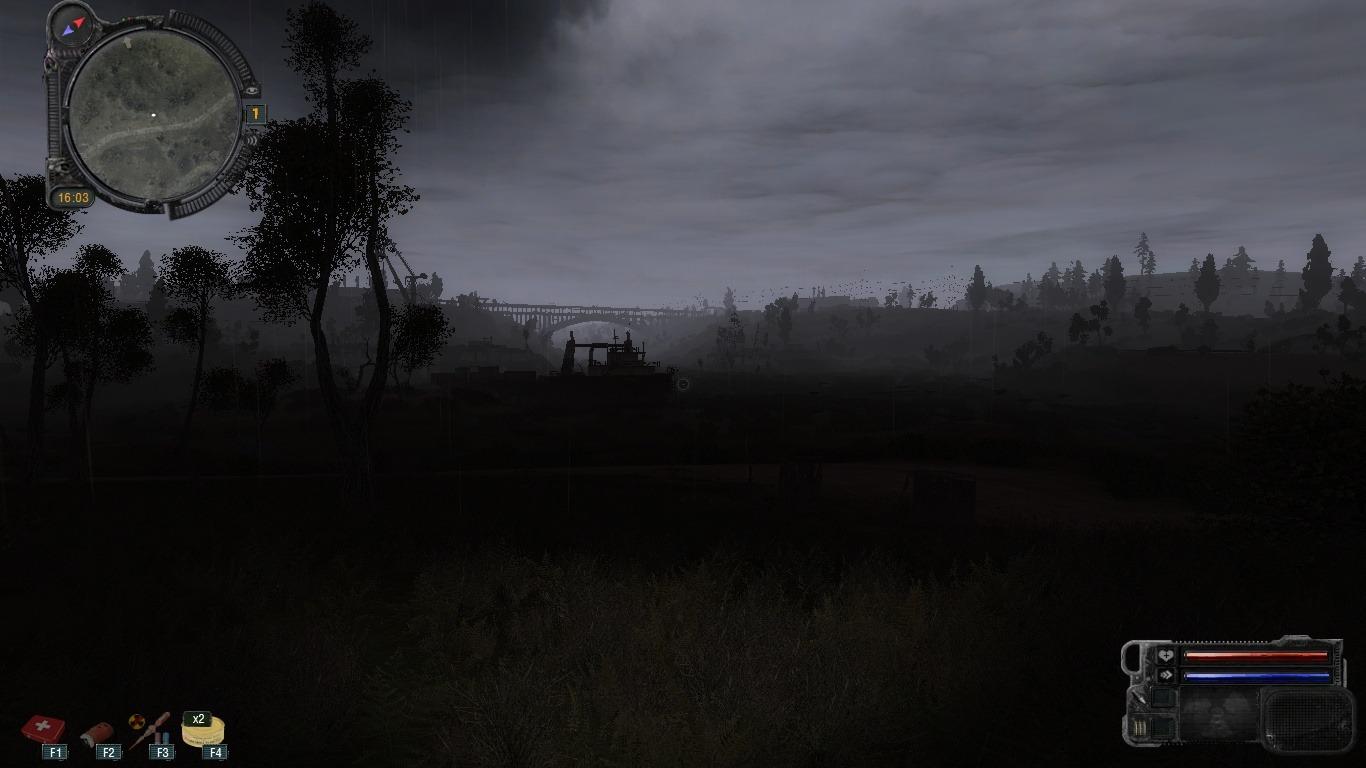 Мод багровый закат на сталкер скачать