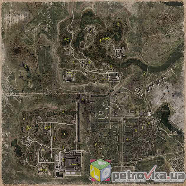 stalker call of pripyat how to open map
